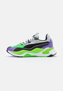 Puma - RS-2K INTERNET EXPLORING UNISEX - Sneakers laag - dark shadow/fluo green