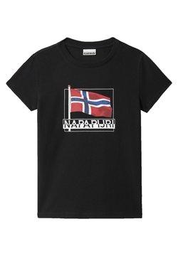 Napapijri - SEJI - T-shirt print - black