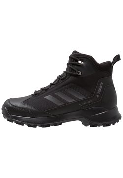 adidas Performance - TERREX HERON MID WINTER HIKING SHOES - Hikingschuh - core black/grey four