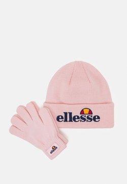 Ellesse - VELLY BEANIE BUBB GLOVE PACK SET - Fingerhandschuh - light pink