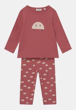 Sanetta - LONG - Pijama - rosewood