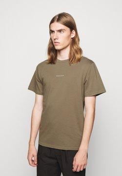forét - QUIET - T-shirt print - stone