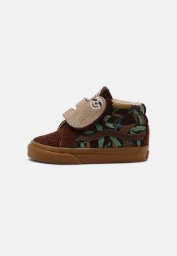 Vans - SK8-MID SLOTH REISSUE V UNISEX - Sneaker high - potting soil/classic gum