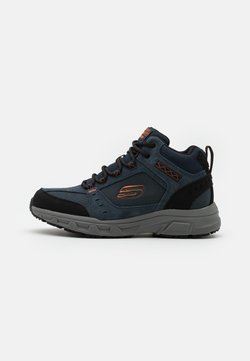 Skechers - OAK CANYON - Sneaker high - navy/orange