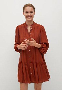Mango - SOFIA - Blusenkleid - rouge-orangé