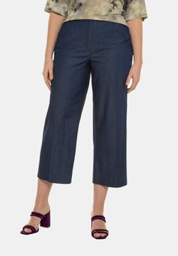 Ulla Popken - Straight leg jeans - dark blue denim