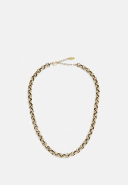 Orelia - ROUND LINK CHAIN - Ketting - antique gold-coloured