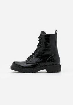 Guess - TALISI - Bottines à lacets - black
