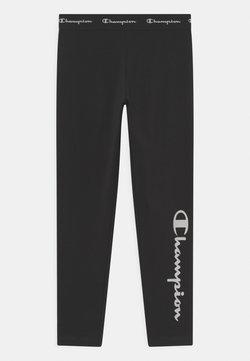 Champion - AMERICAN CLASSICS LOGO UNISEX - Leggings - black/white