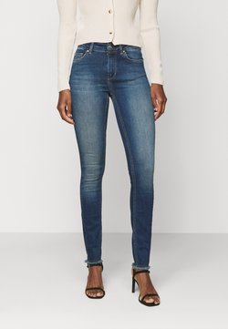 ONLY Tall - ONLBLUSH LIFE MID - Jeans Skinny Fit - dark blue denim
