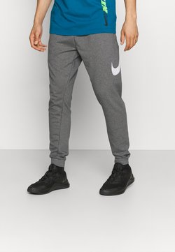 Nike Performance - TAPER - Jogginghose - charcoal heather/white