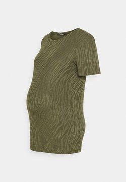 Supermom - TEE ZEBRA - T-shirt print - ivy green