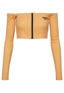 Reebok Classic - CROP - Langarmshirt - sunbaked orange