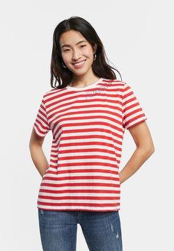 Desigual - T-Shirt print - red