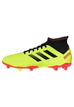 adidas Performance - PREDATOR 18.3 FG - Fußballschuh Nocken - syello/cblack/solred