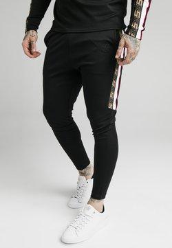SIKSILK - RETRO ATHLETE PANT - Jogginghose - black