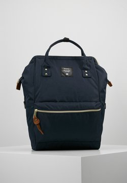 anello - BACKPACK COLOR BLOCK LARGE UNISEX - Reppu - navy