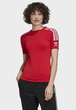 adidas Originals - TIGHT T-SHIRT - T-Shirt print - red