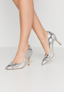 Dune London WIDE FIT - WIDE FIT ANNA - High Heel Pumps - silver