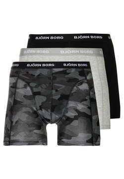 Björn Borg - SHADELINE SAMMY SHORTS 3 PACK - Bokserit - black beauty