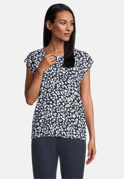 Betty Barclay - T-Shirt print - dunkelblau/weiß