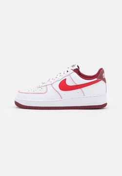 Nike Sportswear - AIR FORCE 1 '07 - Sneaker low - white/university red/team red/sail/team orange/black