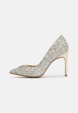Liu Jo Jeans - MILU DÉCOLLETÉ GLITTER  - Tacones - silver/light gold