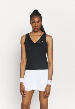 Nike Performance - VICTORY - Funktionsshirt - black/white