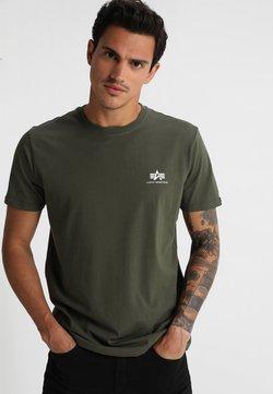 Alpha Industries - Camiseta estampada - dark oliv