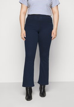 CAPSULE by Simply Be - ERIN PULL ON BOOTCUT - Jeggings - dark indigo