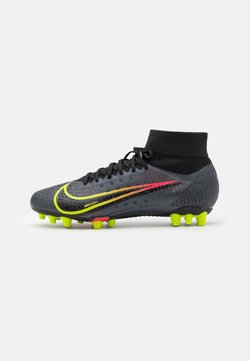 Nike Performance - MERCURIAL 8 PRO AG - Moulded stud football boots - black/cyber/off noir