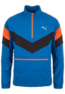 Puma - Laufjacke - blue/black/red