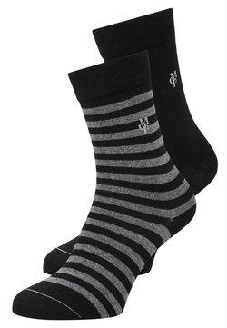 Marc O'Polo - 2 PACK - Socken - black