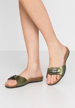 Scholl - BAHAMAIS - Chaussons - kaki