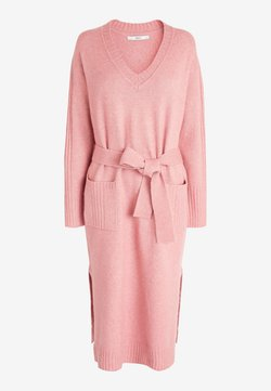Next - Vestido de punto - pink