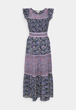Marks & Spencer London - MIX PRINT MIDAXI - Sukienka letnia - dark blue