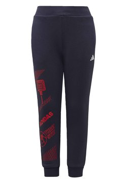 adidas Performance - FLEECE JOGGERS - Jogginghose - blue