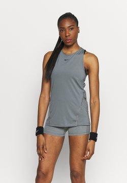 Nike Performance - TANK ALL OVER  - Funktionsshirt - smoke grey/black