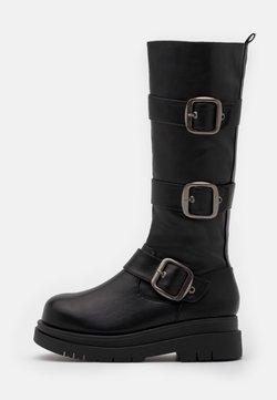 Koi Footwear - VEGAN - Kozaki na platformie - black