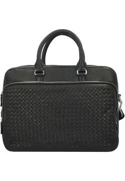 Bugatti - WOVEN AKTENTASCHE  - Notebooktasche - schwarz