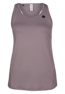 Under Armour - RUSH - Funktionsshirt - slate purple  slate purple