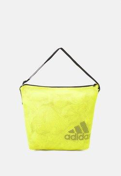 adidas Performance - EASY SHOP - Sporttasche - acid yellow/black