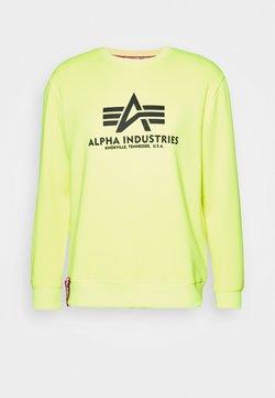 Alpha Industries - BASIC  - Sweatshirt - neon yellow