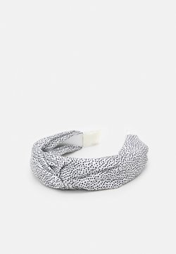 LIARS & LOVERS - CHECK KNOT HEADBAND - Haar-Styling-Accessoires - black/white