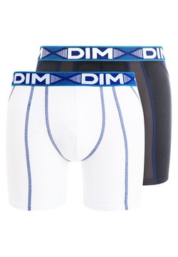 DIM - 3D FLEX AIR 2 PACK - Shorty - blanc/bleu/gris