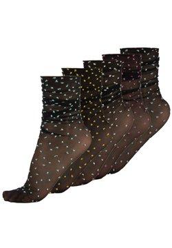 Calzitaly - 5 PACK - Socken - black