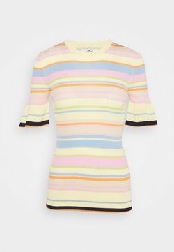 7 for all mankind - STRIPED - T-Shirt print - multicolour