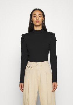 Monki - RONJA - Långärmad tröja - black