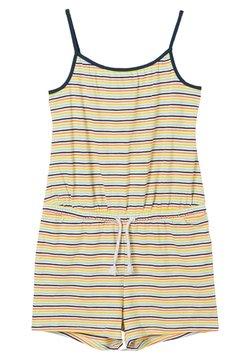 s.Oliver - Jumpsuit - cream stripes