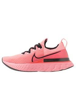 Nike Performance - EPIC PRO REACT FLYKNIT - Zapatillas de running neutras - bright melon/black/ember glow